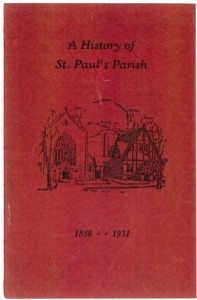 A History of St. Paul's Parish
